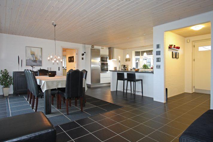 Vejle 1 Perspektiv Køkken-Alrum 2 Preben Jørgensen Huse
