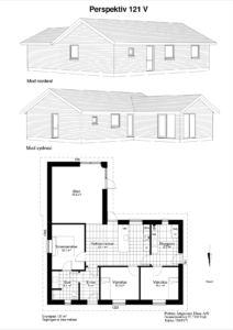 grundtegninger af huse
